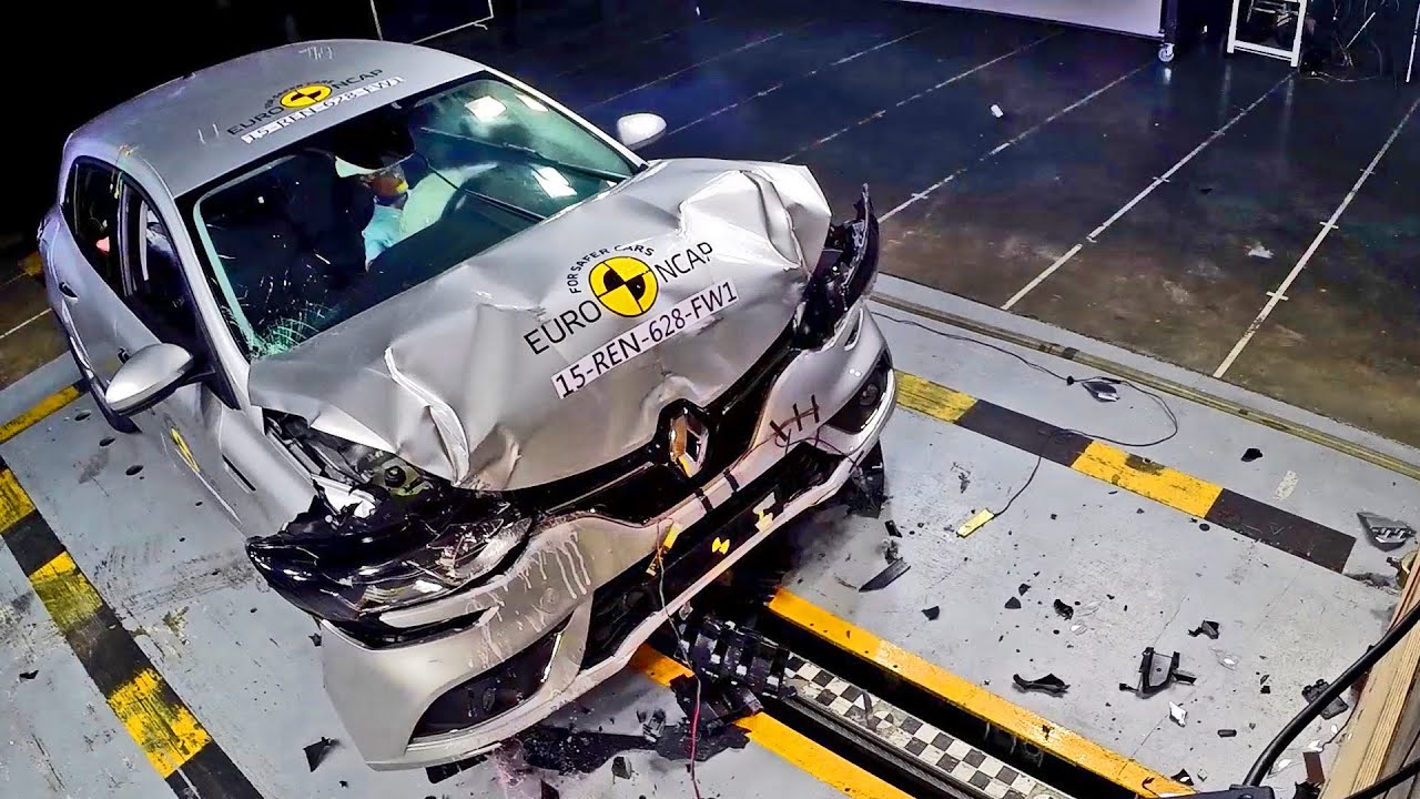 Renault Mgane 4 2016 Crash Test Youtube