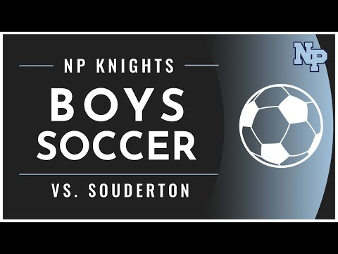 NP Boys Soccer vs Souderton 10-15-2020