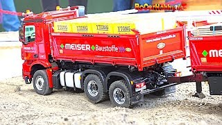 R/C TRUCK ACTION at MODEL RAILWAY EXHIBITION Keltern 2018 - part 3