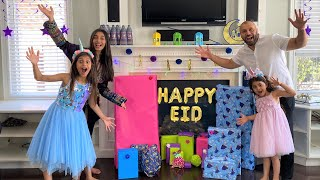 Deema and Sally Celebrate Happy Eid with Surprise Toys