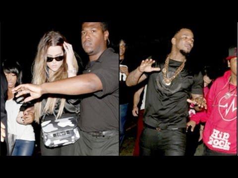 Khloe Kardashian & The Game's Entourage ATTACK Paparazzi
