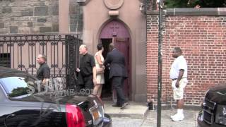 Alec Baldwin and Fiance Hilaria Thomas Rehearse Their Wedding Nuptials In NYC