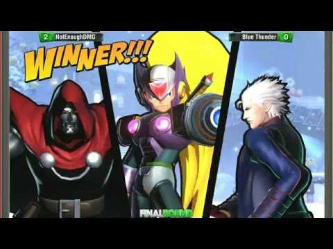 UMVC3: Final Round 19 Semis - Crazy Joe v Jeopardy / NotEnoughDamage vs Blue Thunder