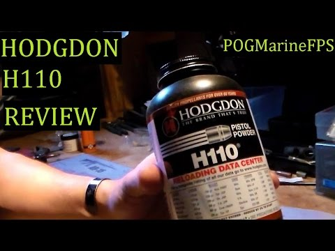 Hodgon H110 Pistol Powder Used in a Rifle Round POWDER Review