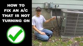 AC Wont Turn On - The Most Common Fix