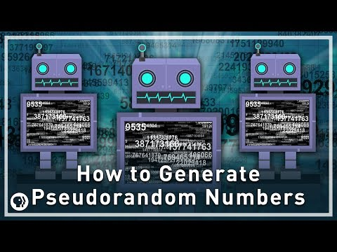 How to Generate Pseudorandom Numbers | Infinite Series