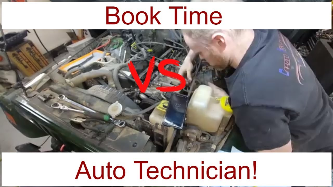 book time for auto repairs