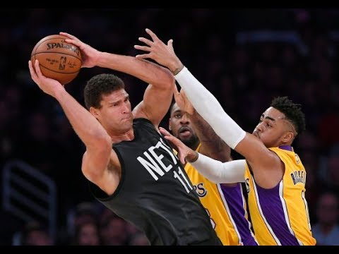 D'angelo Russell Traded!!? Brook Lopez To The Lakers? Blockbuster NBA Trades