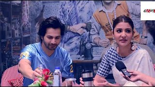 Exclusive interview with Varun Dhawan and Anushka sharma