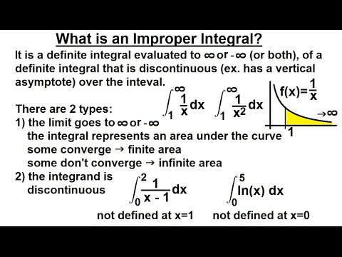 improper integral essay