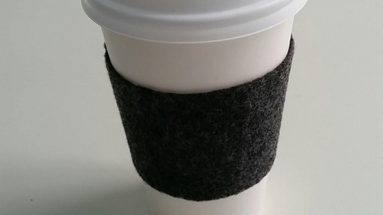 Reusable Felt Coffee Cup Sleeve
