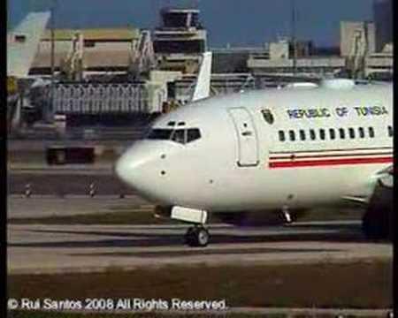 Republic of Tunisia Boeing 737-7H3 BBJ(w)