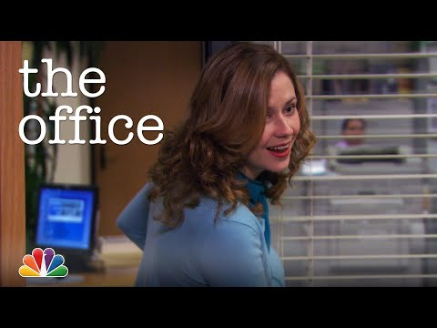 Pam Flirts With Michael - The Office