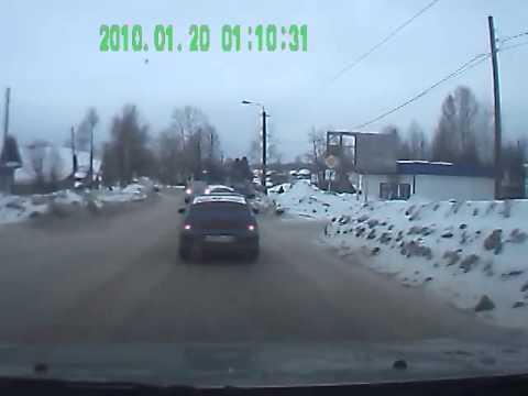 Омутнинск. ДТП на слиянии улиц Комсомольская-Коковихина