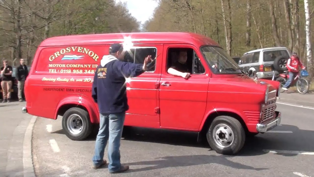 ford transit mk1 leaving wheels day 2012 youtube. Black Bedroom Furniture Sets. Home Design Ideas