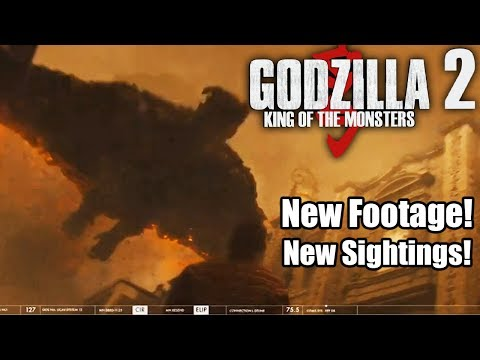 NEW GODZILLA 2019 FOOTAGE! - All Monarch Kaiju Sightings - Godzilla 2019 King of Monsters