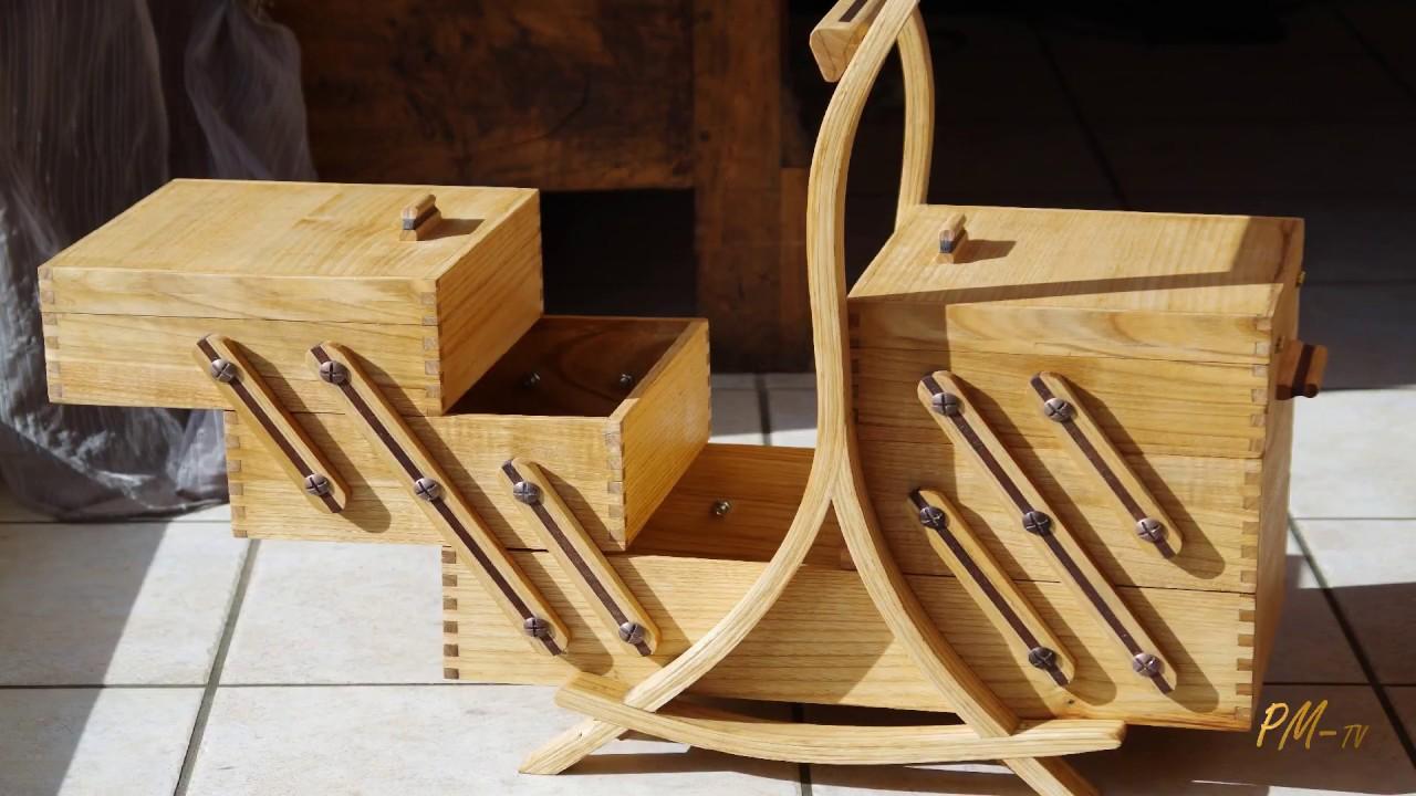 Comment Fabriquer Une Caisse En Bois sewing solid wood box - diy - pmtv