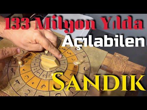 133 Milyon Yılda Açılabilen Sandık
