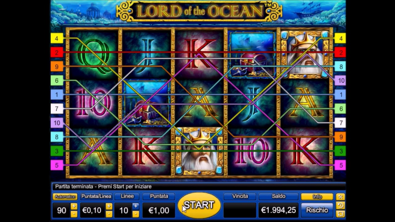 Lord ocean slot machine gratis