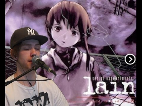 Serial Experiments Lain Opening Duvet Bôa cover