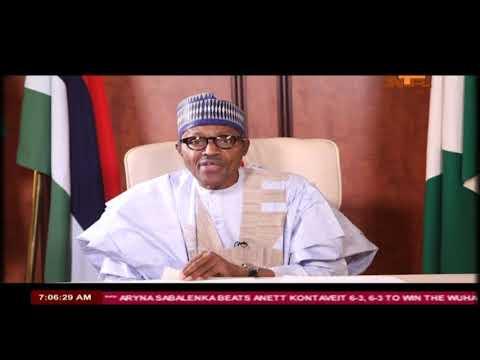 #Nigeria@58: President Buhari's Independence Day Speech