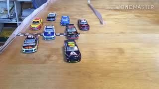 NASCAR Stop Motion Roblox Cup série Race 7 à Indianapolis