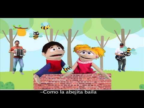 Canciones infantiles con letra en español | Abeja bailadora | Música infantil