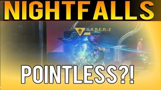 Nightfalls Are Pointless Now? - Destiny The Taken King