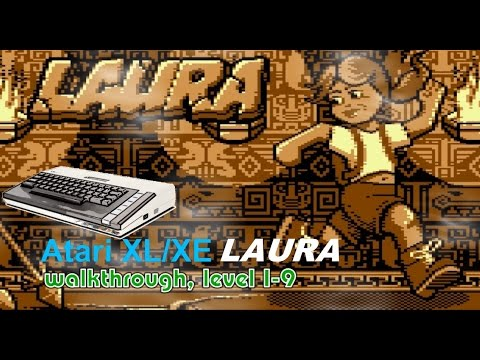 Atari XL/XE -=Laura=- walkthrough, part 1