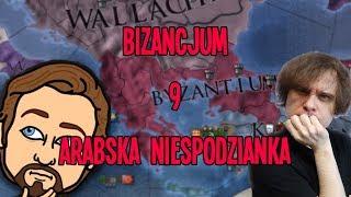 Arabska niespodzianka - Europa Universalis IV: Bizancjum #9 (w/Zlewikk)