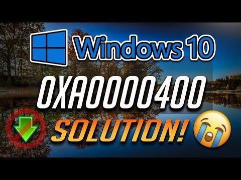 Fix Windows Update Error 0xa0000400 In Windows 10 [5 Solutions] 2020
