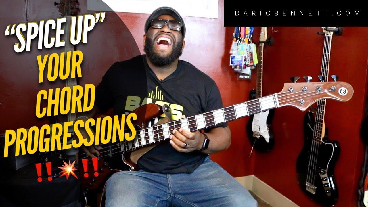 Alternative Chord Progressions On Bass Daric Bennetts Bass
