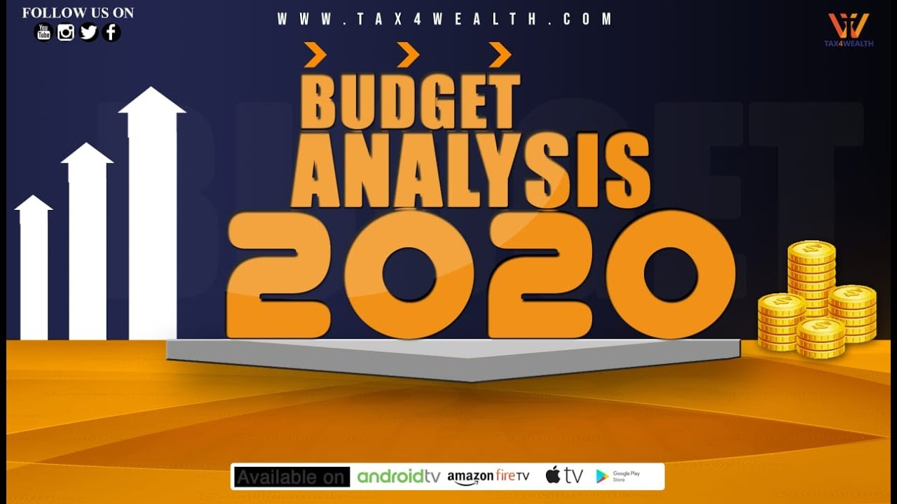 Budget Analysis 2020 in Hindi