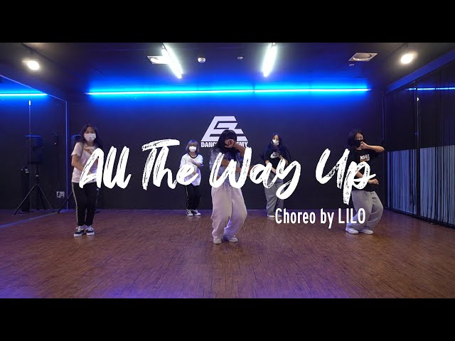 EZDANCE I 동탄점 I 이지댄스 I 박재범 - All the way up I GIRLISH BEGINNER I CHOREO by LILO