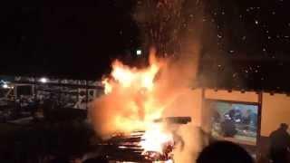 石座大祭1 火祭り