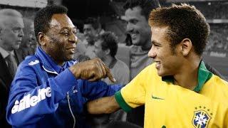 Old School vs. New School Football (Brazil) ● Pele vs. Neymar ● 2015 HD