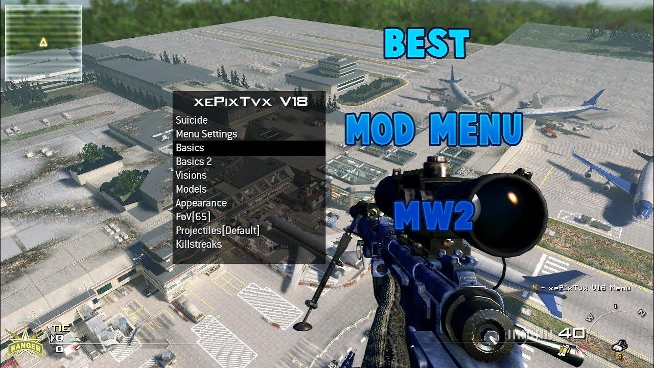 [MW2/PC] xePixTxvV18 Best Mod Menu