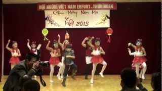 CLB thieu nhi Erfurt Gangnam Style