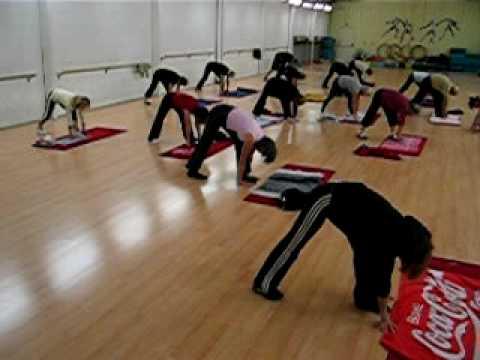 Cours de Stretching du jeudi 10 heures 20 - YouTube