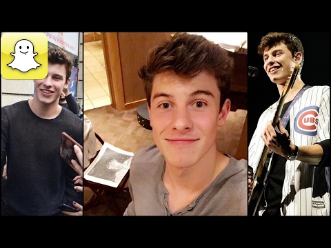 Shawn Mendes - Snapchat Video Compilation...