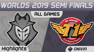 G2 vs SKT Series Highlights Worlds 2019 Semi Finals G2 Esports vs SK Telecom T1 by Onivia