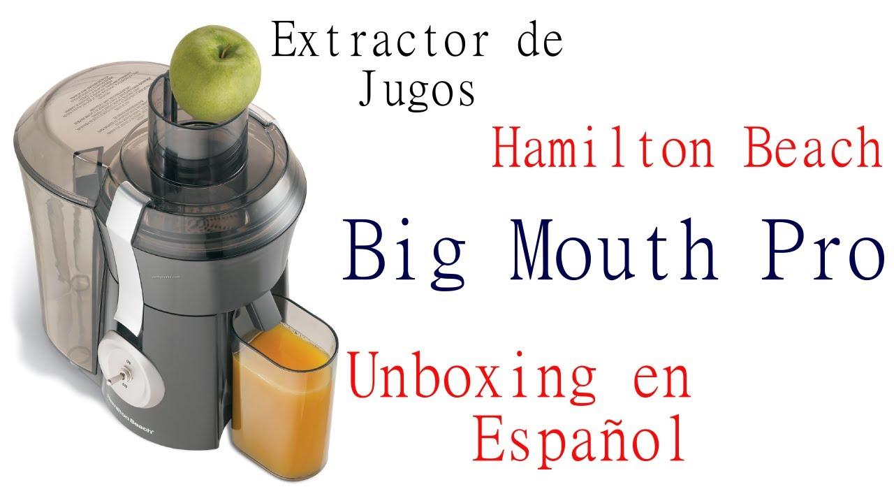 Extractor De Jugos Hamilton Beach Big Mouth Pro Unboxing En Espanol Youtube Average rating:0out of5stars, based on0reviews. extractor de jugos hamilton beach big mouth pro unboxing en espanol