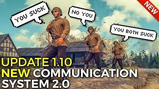 NEW Battle Communication System 2.0! | World of Tanks Update 1.10 Battle Communication