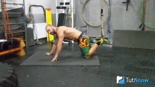 Скручивание пресса в петлях - техника выполнения упражнения