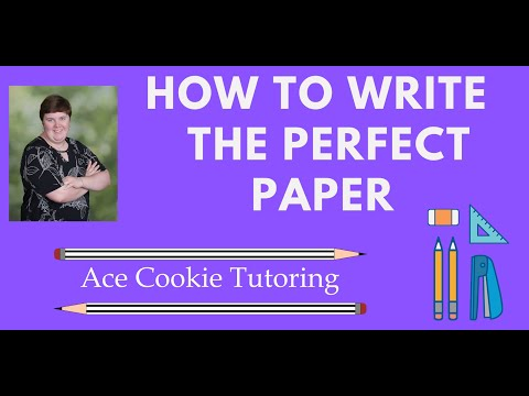 Tutoring Transcript: 3 Tips to Write an A Paper