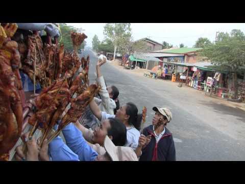 Laos Pakse to Muang Khong 4000 Islands and Waterfall