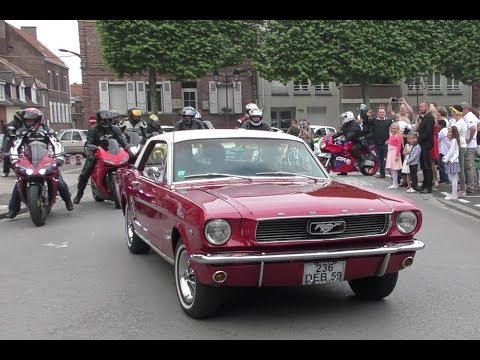 mariage rockabilly moto mustang et pin up youtube. Black Bedroom Furniture Sets. Home Design Ideas
