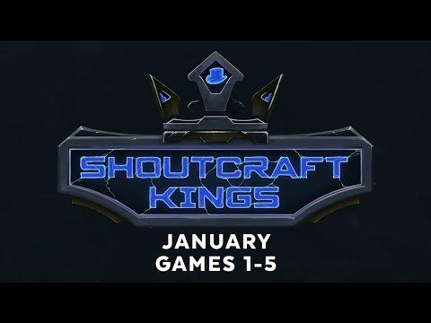 ShoutCraft Kings January - Games 1-5