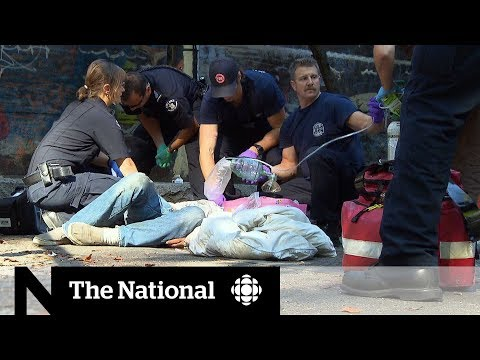 CBC News: The National: Canada sees more than 8,000 opioid deaths since 2016