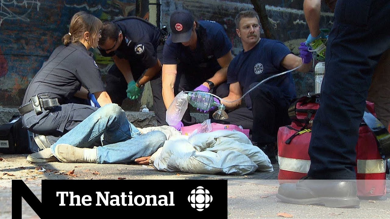 Canada sees more than 8,000 opioid deaths since 2016